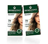 Herbatint Gel Colorante Permanente (Colore 7N Biondo) - 2x150 ml. (Totale 300 ml.)