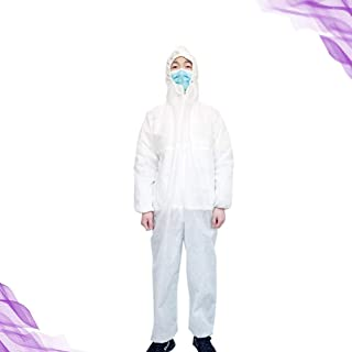 Disposable Isolation Medical Protective Suit- Gown- Workwear-Cover all. PPE Grade- One piece - First Aids Doctors Nurse No...