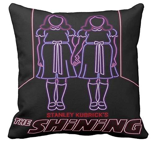Pillow pillow Cuscino Personalizzato 40X40 Meme Tributo The Shining Film Thriller Horror Jack Nicholson Stanley Kubrick Film Cult 1 - Divano Arredamento Idea Regalo