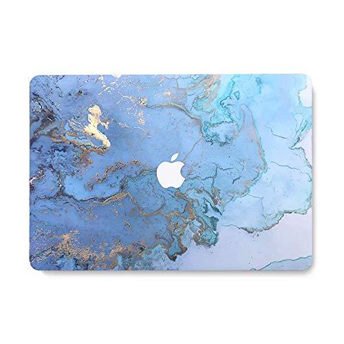Andoer Capa protetora para laptop super fina revestida de borracha para laptop repalhamento para Apple Air MacBook Air de 13,3 '' modelo A1932 Scenery