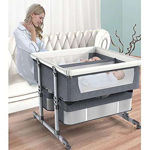 TXTC Cuna para Bebé, Cuna Colecho Sleeper con Padres,...