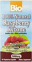 海外直送品Rasberry Ketone, 500 mg, 60 vcaps by Bio Nutrition Inc