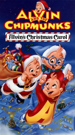 Alvin and the Chipmunks: Alvin's Christmas Carol [VHS]