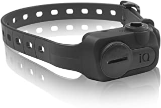 Dogtra iQ NO BARK Replaceable Battery Conductive Plastic Contact Points Compact Collar in Black