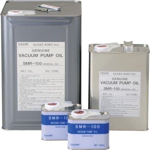 ULVAC 真空ポンプ油(SMR-100 4L缶) SMR-100-4L