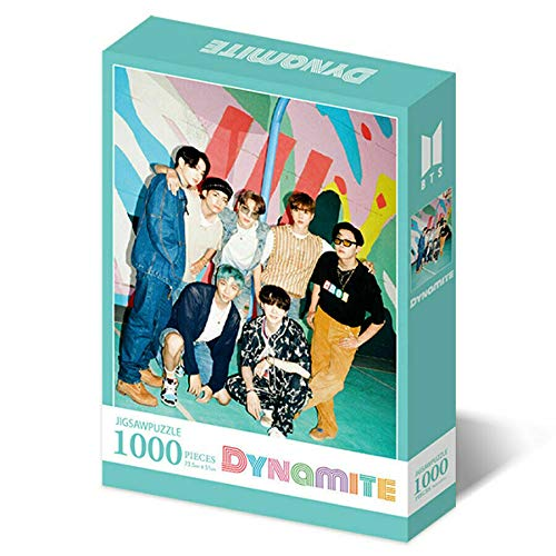 BTS JIGSAW PUZZLE DYNAMITE [ MINT] VER. Puzzle+Poster+Clear File+Book Mark+Photo Card K-POP SEALED+TRACKING CODE