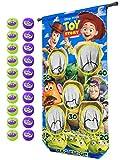 GoSports Disney Pixar Toy Story Bag Em' Up Doorway Game Includes 20 Balls and Adjustable Tension Rod