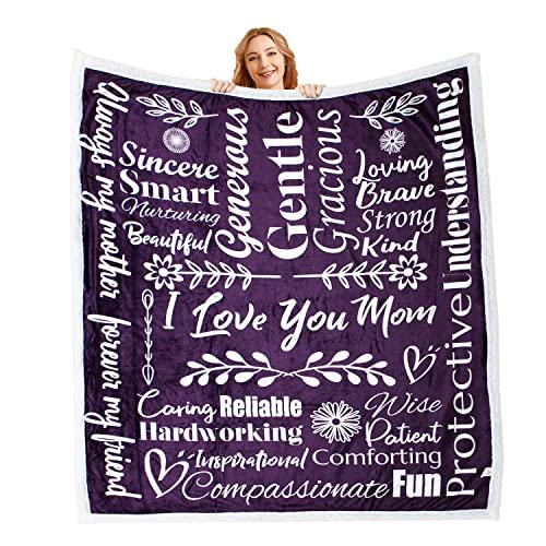 Mami Home - I Love You Mom Blanket Gift for Loving & Inspiring Mom  ...