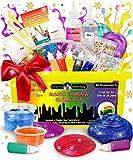 Kit de Slime de Original Stationary: Implementos para hacer slime de cristal, alien,...
