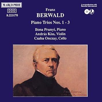 BERWALD: Piano Trios Nos. 1-3