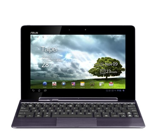 ASUS EeePad Transformer Prime TF201 10.1 inch Tablet with Keyboard/Dock - Grey (Nvidia Tegra 3 Quad Core 1.3GHz, RAM 1GB, Storage 32GB eMMC, WLAN, BT, Webcam, Android 3.2)