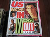 US Magazine (Who s In Who s Out For 1991 , Kevin Costner , Johnny Depp , Julia Roberts , Patrick Swayze , Whitney Houston)