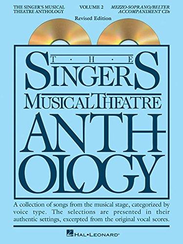 The Singer's Musical Theatre Anthology - Volume 2: Mezzo-Soprano Accompaniment CDs (Singer's Musical Theatre Anthology (Accompaniment))