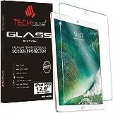 TECHGEAR Panzerglas für iPad Pro 12.9 Zoll 2017/2015 - Panzerglasfolie Anti-Kratzer Schutzabdeckung kompatibel mit iPad Pro 12,9 Zoll 2. Generation 2017, 1. Generation 2015