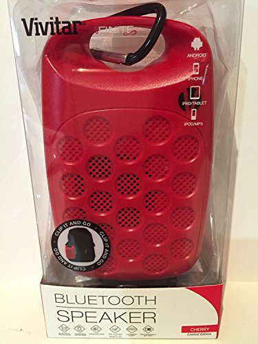 Vivitar Infinite Bluetooth Speaker - Red - Limited Edition