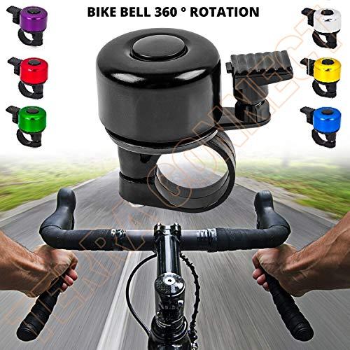 Timbre de bicicleta para bicicleta WiFndTu ruidoso