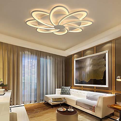 ZLX Luz De Techo De Comedor De Dormitorio De Sala De Estar De Acrílico LED Posmoderna con Luz LED