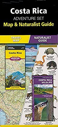 Costa Rica Adventure Set: Map & Naturalist Guide by Waterford Press National Geographic Maps(2015-04-14)