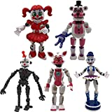 Inspired by FNAF Figures Set 5 pcs, 5 - 7.5 inches