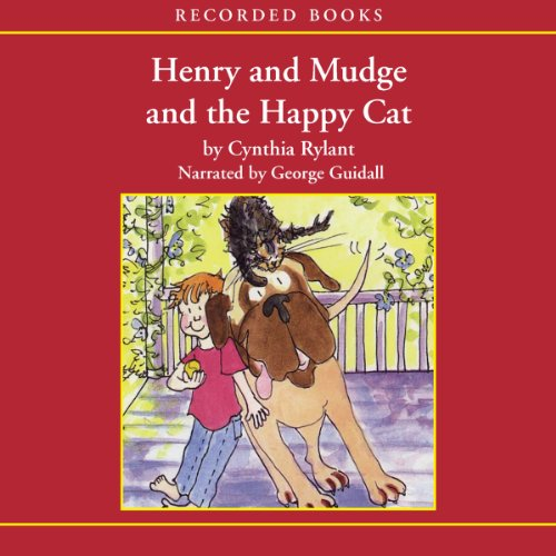 Henry and Mudge and the Happy Cat audiobook cover art