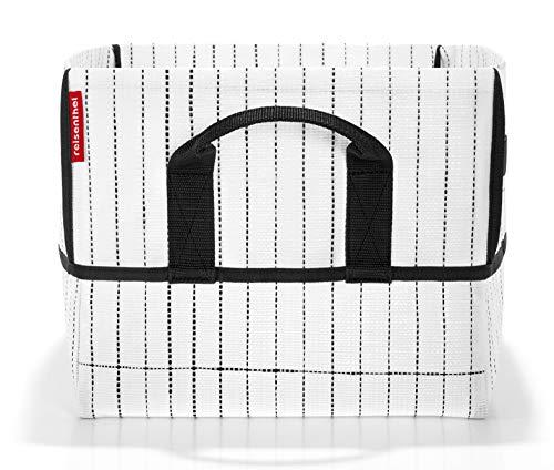 Reisenthel Urban Box Tokyo Bolsa de Tela y Playa, 40 cm, Multicolor (Black and White)