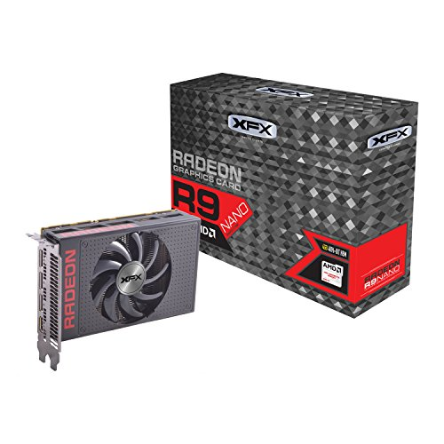 XFX Radeon CORE Edition R9-NANO-4SF6 Grafikkarte (PCIe 3.0, 4GB, 1000MHz, GPU, 4096 Streams, DP 1.2, HDMI)