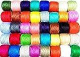Nuevo 50x Anchor Pearl algodón Crochet hilo bolas. J & P tamaño 8(85metros cada uno)
