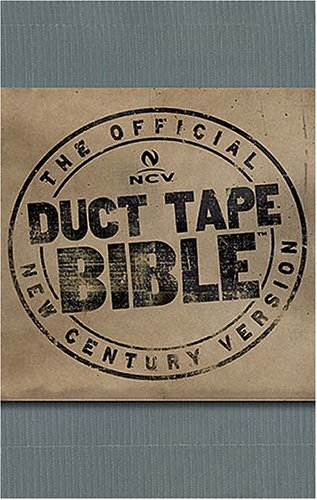 Compare Textbook Prices for Holy Bible: New Century Version, Silver Duct Tape  ISBN 9780718018245 by Thomas Nelson