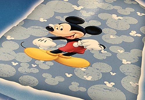 Disney Mickey Ratón–Saco edredón azul I Puzzle–Caleffi