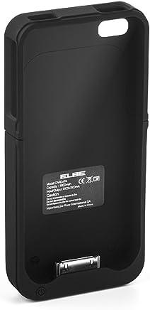 22fb0251348 Elbe CARG-iP4 - Funda-batería para iPhone 4 / 4S, color negro