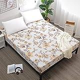 CYYyang Protector de colchón Acolchado - Microfibra - Transpirable Barrera de orina de sábana Impermeable y Antideslizante -2_180cmX200cmX30cm