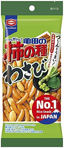 亀田製菓 亀田の柿の種 わさび 65g×10袋