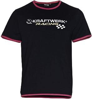 TshirtGrill Kraftwerk ha sacado la transpiraci/ón de teclear la camiseta del lavado del vintage rojo del color