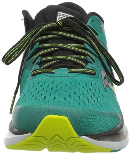 Saucony Ride ISO 2, Zapatillas de Running Hombre, Verde Verde 37, 43 EU