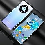 RUBAPOSM Mate50 Pro Smartphone Asequible, Teléfono Móvil La Red 3G, Android 6.0, Cámara HD 2MP + 5MP, Pantalla Completa 6,8 In, 2 + 12GB Memoria (Ampliable),Gradient Blue
