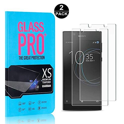 Bear Village® Sony Xperia L1 / E6 Displayschutzfolie, 9H Härtegrad Displayschutz, 99% Transparente, 3D Touch Schutzfilm aus Gehärtetem Glas für Sony Xperia L1 / E6, 2 Stück