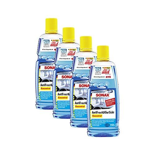 SONAX 4X 03323000 AntiFrost & KlarSicht Konzentrat 1L