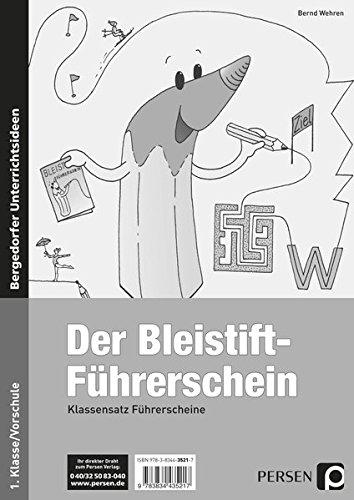 Bleistift-Führerschein - Klassensatz Führerscheine (Bergedorfer® Führerscheine)