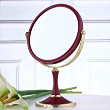 High-definition dubbelzijdige make-up spiegel desktop dressing spiegel schoonheid prinses spiegel vouwen vierkante spiegel...