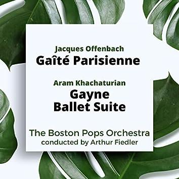 Offenbach: Gaîté Parisienne / Khachaturian: Gayne Ballet Suite