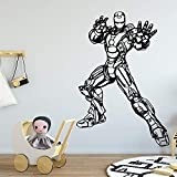 Etiqueta de la Pared Personaje de Dibujos Animados Vinylkitchen Home House Love Sticker Craft Display Wall