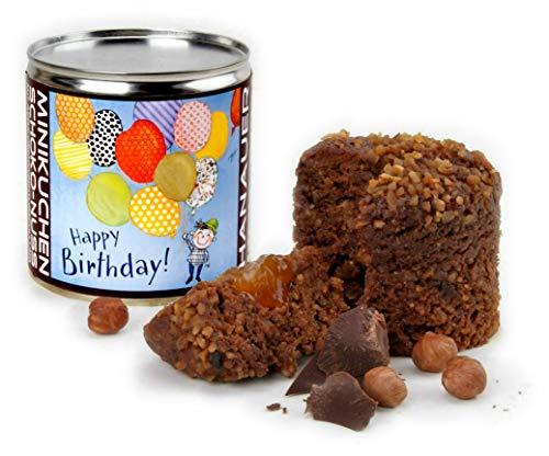 "Hanauer Minikuchen SchokoNuss ""Happy Birthday"", 1er Pack (1 x 170 g)"