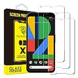 Yoyamo [3Pack] Google Pixel 2XL Glass Screen Protector, NEG01 3D Tempered Glass Screen Coverage [Case Friendly][Anti-Fingerprint][9H Hardness][HD] Screen Protector for Google Pixel 2XL