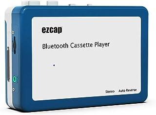 Y&H Lecteur de Cassette Bluetooth Portable, transmet de la Musique sur Bande rétro aux écouteurs ou Haut-parleurs Bluetoot...