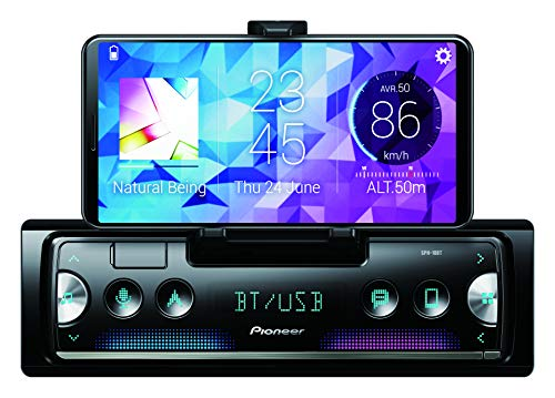 Pioneer SPH-10BT - Auto Media-Receiver (Schwarz, Silber, 1 DIN, 200 W, 4.0 Kanäle, 50 W, Android, iOS)