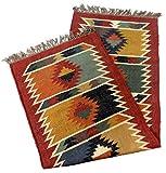 Seleccione - Alfombra de lana turca Kilim Alfombra de yute tejida a mano Alfombra decorativa de cocina Dhurrie para pasillo (75 x 300 cm)