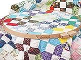 Frank A Edmunds Beechwood Quilt Hoop-18, Multi
