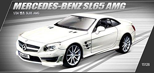 1/24Mercedes-Benz SL65AMG Academia Modelo Kits fundido # 15126
