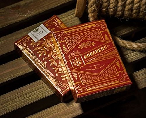 Red Monarchs Playing Cards by Theory 11 (single deck) Version 2