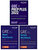 kaplan gre complete 2022: 3-book set: 6 practice tests + proven strategies + online